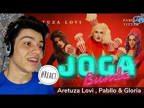 Aretuza Lovi  Pabllo Vittar & Gloria Groove - Joga Bunda   Reaction  Reação