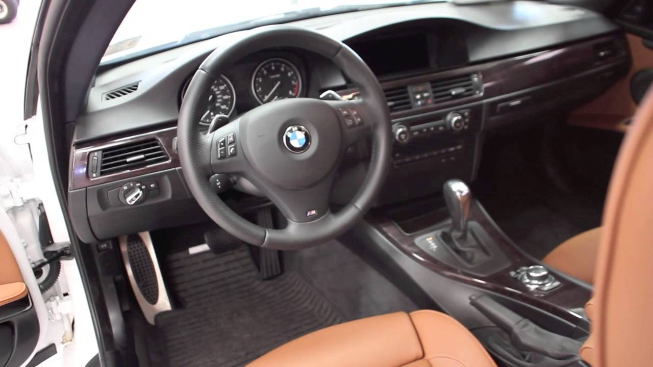 BMW I Coupe M Package White YouTube - 2012 bmw 335i m sport package