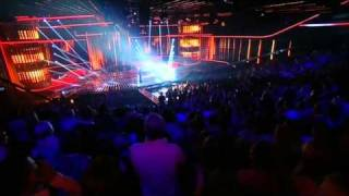 matt cardle sings when love takes over the x factor live full version