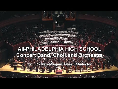All City Orchestra, Band & Chorus - March 1 2016, Verizon Hall, the Kimmel Center