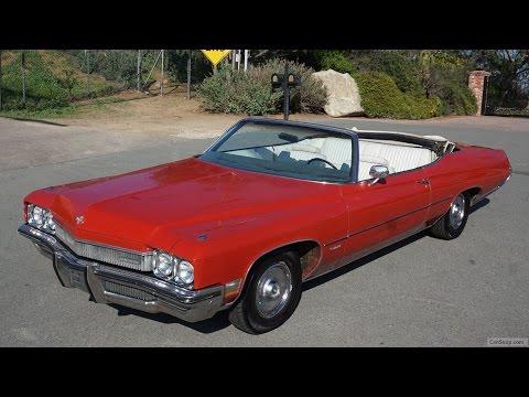 1972 Buick Centurion Video Review Convertible 455 V8 ~ WildCat Delta 88
