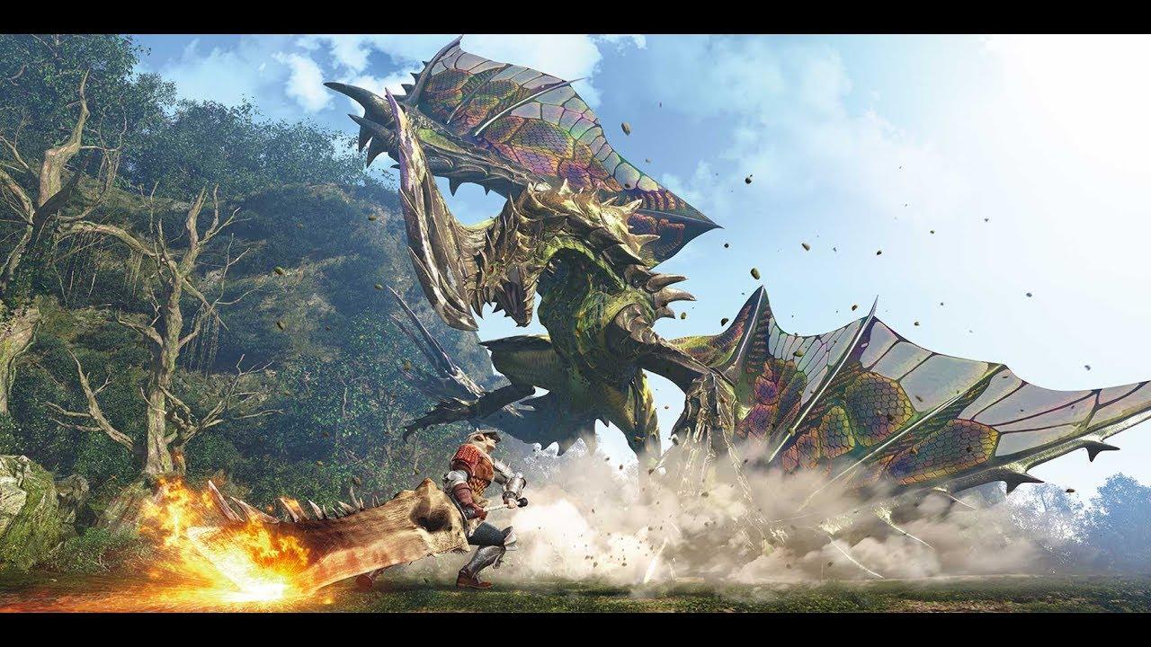 Monster hunter world minutes de gameplay youtube
