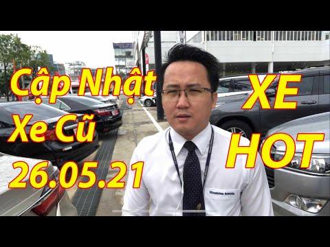 Cập nhật bảng giá xe cũ chính hãng mới nhất tại Toyota Tân Cảng ngày 26.05.21