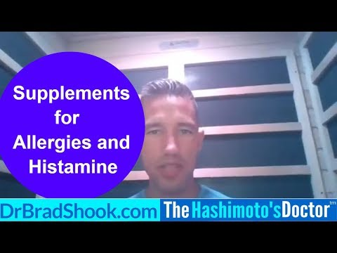 """The Best Supplements for Allergies and Histamine"""
