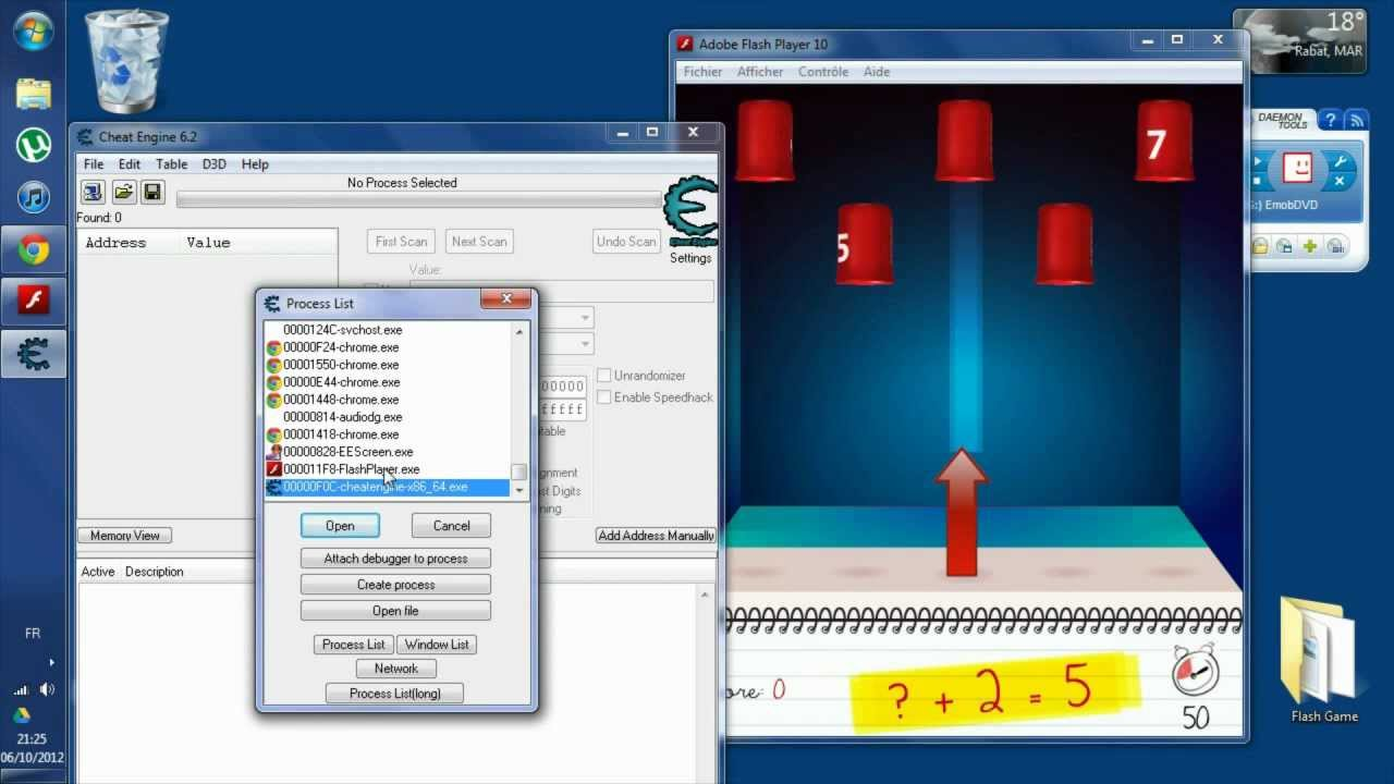 How To Automate a Flash Game (Cheat Engine + AutoHotkey)