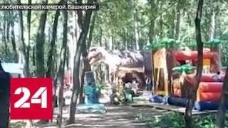 Смотреть видео В Башкирии 8-летний мальчик сломал позвоночник в парке развлечений - Россия 24 онлайн