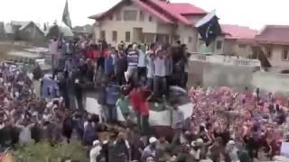 Kasmir Azadi slogans in Srinagar 2016