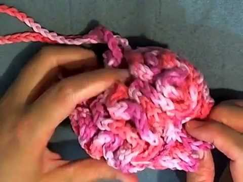 How to Crochet a Loofah - Bathroom Projects - YouTube