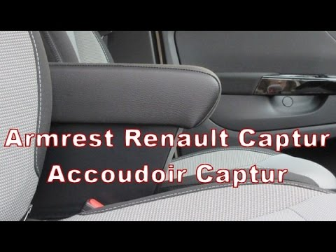 Renault Captur Armrest With Storage Made In Italy Youtube