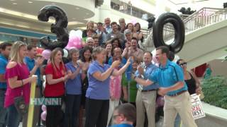 Poughkeepsie Galleria Mall 30th Anniversary Ribbon Cutting