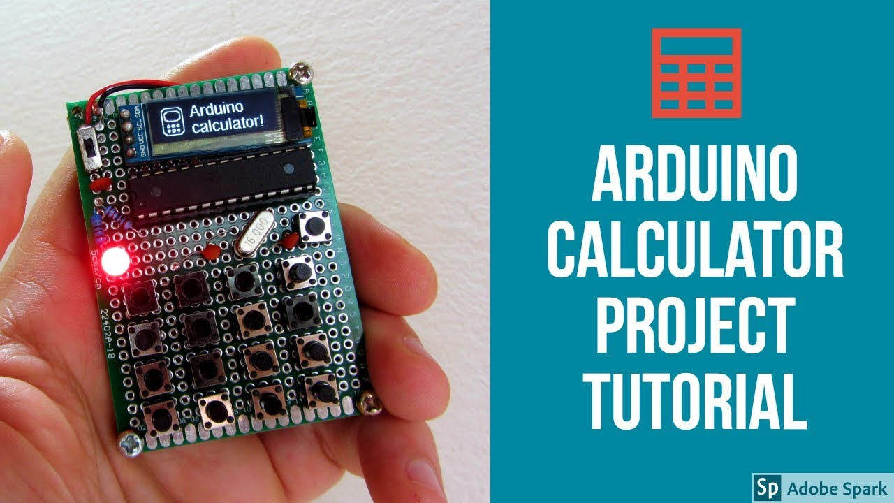 how to make calculator arduino project
