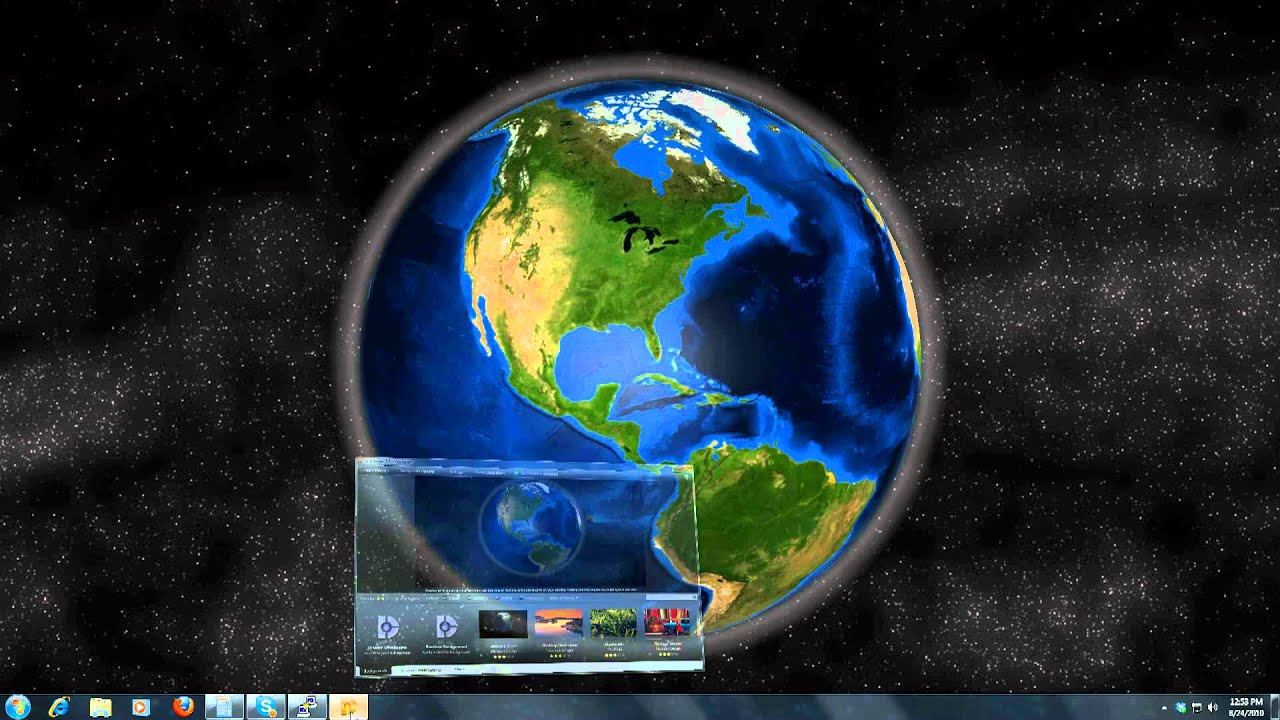Windows 7 Animated Wallpapers - YouTube - photo#42