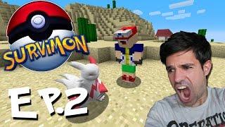 ROBANDO POKÉMON A AGAPITO | SurviMon Pokémon en Minecraft | Episodio 2