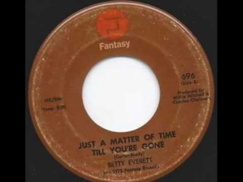 Betty Everett - Just A Matter Of Time