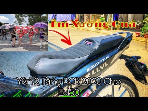 Exciter 150 Độ Yên 2 Tầng RCB 2020 Cực Đẹp,Yên 2 Tầng RCB 2020 Cao Cấp | Lê Lĩnh vlog ( LLVL )