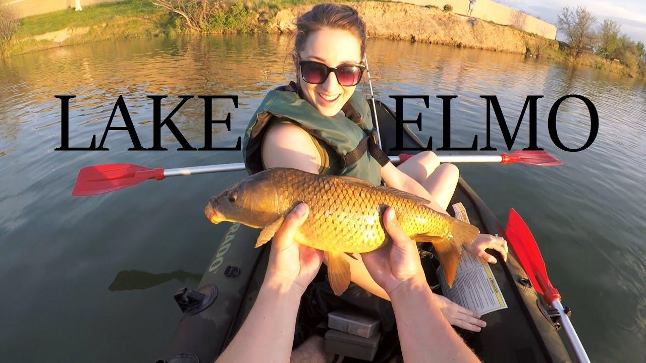 Kayaking lake elmo snagging a carp fishing montana for Montana out of state fishing license