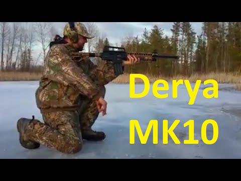 Derya MK10 Box Magazine-Fed Semi Automatic 12-Guage Shotgun