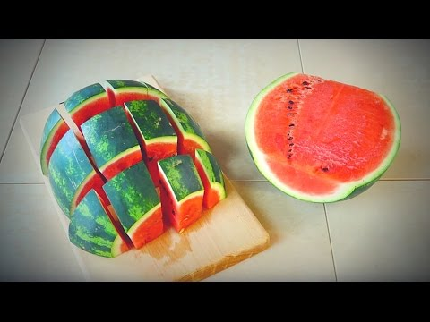 Come Servire L Anguria.Come Tagliare E Servire 3 Tipi Di Cocomero How To Cut And Serve 3 Types Of Watermelon