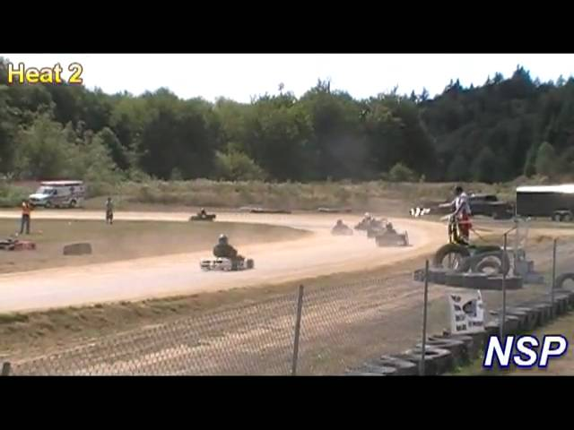 8-22-09 CKA Yamaha L&H Heat Races 1, 2 & A-Main ORV Park Travel Video