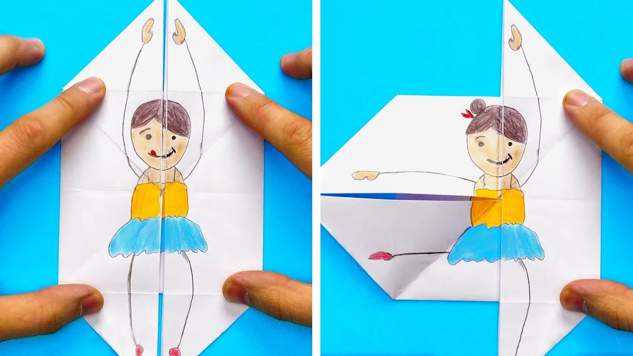 34 EASY DRAWING TRICKS FOR YOUR KIDS - YouTube