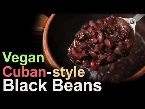 Best Cuban-style Black Beans Vegan Recipe