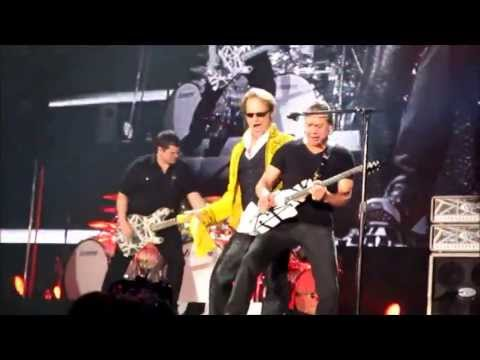 Van Halen 2013 TOKYO DOME Opening - Unchained