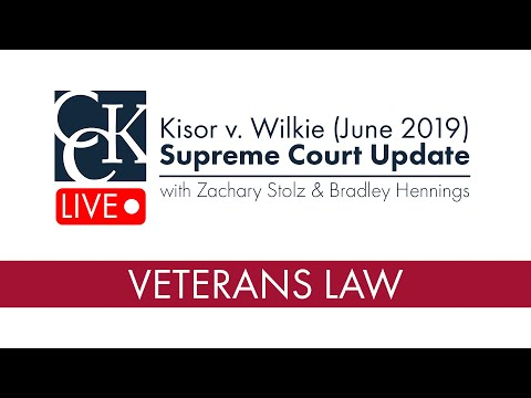 Kisor V. Wilkie: Supreme Court Update (June 2019)