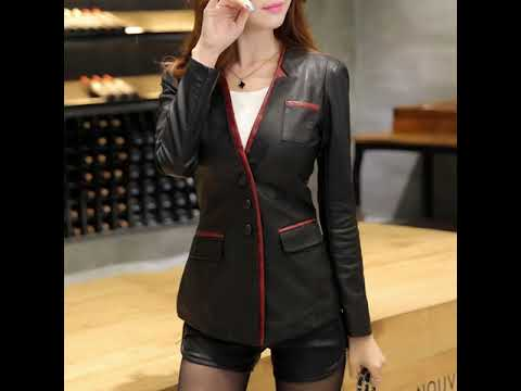 WA 0852-1145-2294 |Jaket Kulit Wanita Model Blazer