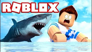 YOU CAN SURVIVE THE SHARK ATTACK ON ROBLOX?!!