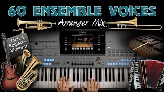 Tyros 5 - 60 Ensemble Voices - Arranger Mix