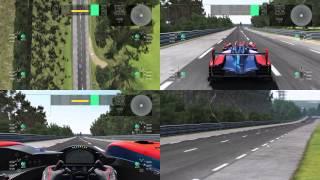 Project CARS: Multi View - Circuit des 24 Heures du Mans - Oreca 03 Nissan LMP2 [Build 987]