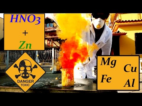 HNO3: Reactivity of metals with NITRIC ACID