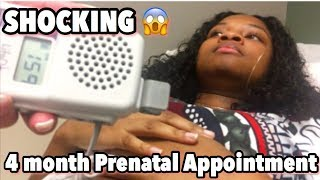 LISTEN TO MY WIDDLE BABY'S HEARTBEAT!! (4 MONTH PRENATAL APPOINTMENT)