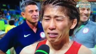 【リオ五輪】吉田沙保里が銀メダル獲得後涙のインタビュー。「金メダル取れなくてごめんなさい」「日本選手の主将として金メダル取らなくてはいけなかった」 三瓶宏志 検索動画 18