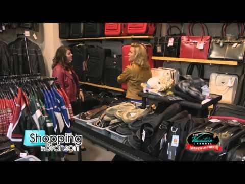 Shopping in Branson pt.2 Wilson Leather