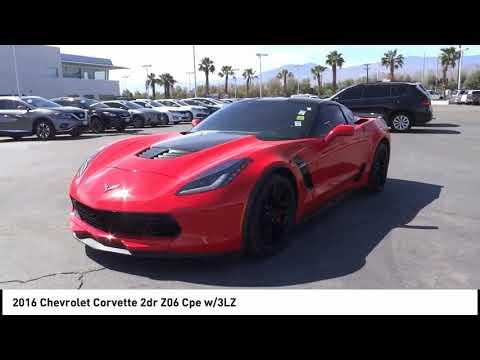 2016 Chevrolet Corvette SAN DIEGO ORANGE COUNTY LOS ANGELES INLAND EMPIRE PALM SPRINGS P1346