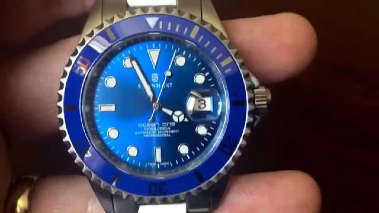 Steinhart Ocean One Premium Blue Review Youtube