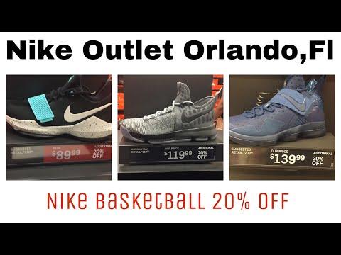 Nike Outlet Vlog Orlando,FL | Nike Basketball shoes 20% OFF