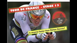Tour de France 2019 | STAGE 13 | Preview | Can Rohan Dennis win again?