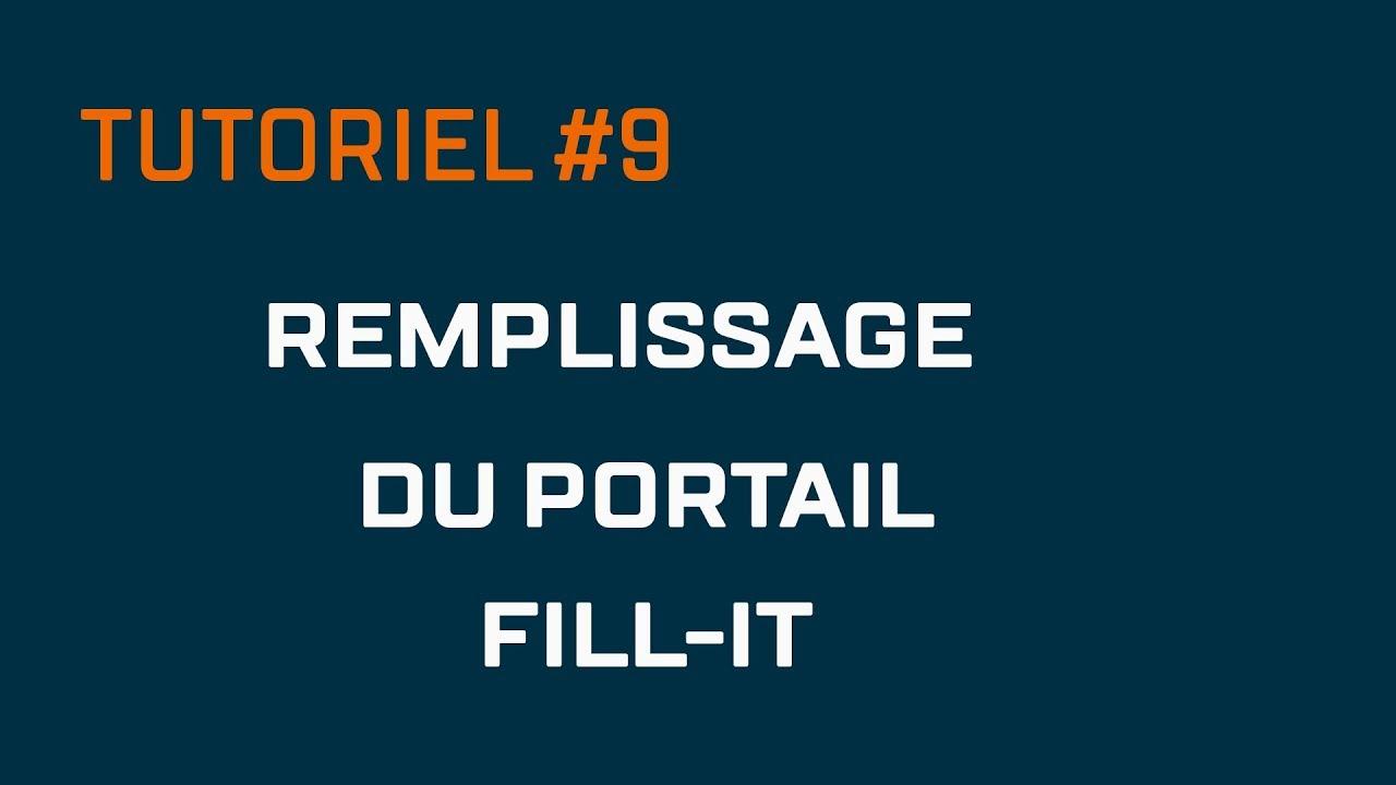 Tutoriel 9 Remplissage Du Portail Filling