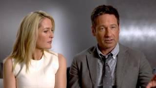 Дэвид Духовны и Джиллиан Андерсон о заключительном эпизоде 10 сезона Секретных Материалов.