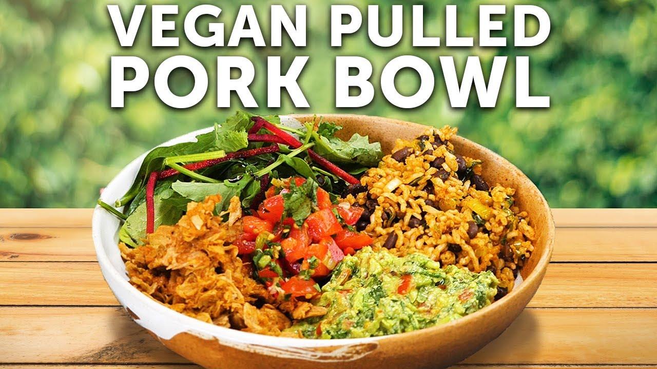 Pulled Pork Bowl Bosh Vegan