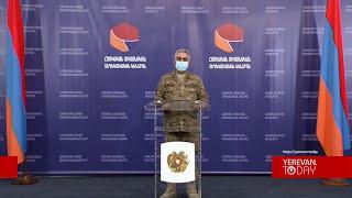 Գիշերը թեժ մարտեր չեն եղել. Արծրուն Հովհաննիսյան