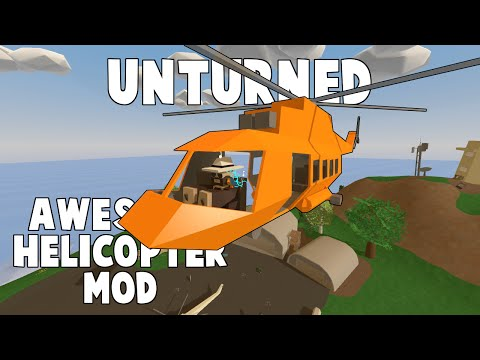 Unturned Mod Showcase | Custom Search Helicopter