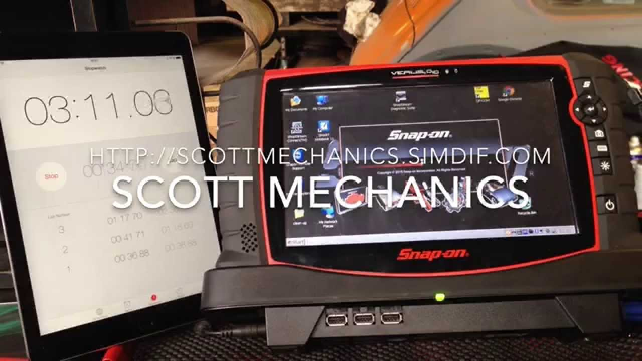 Snap on scan tool verus pro speed up upgrade ssd before and after by Scott  Mechanics