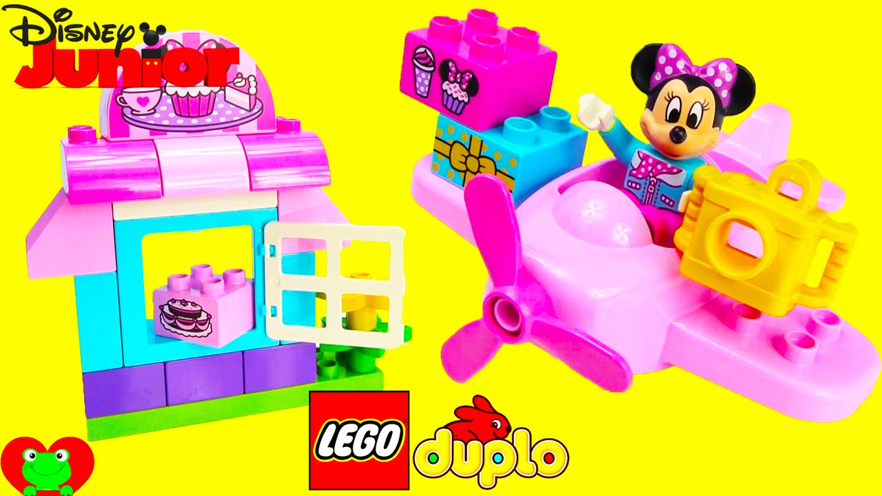 Minnies Cafe Lego Duplo 10830 With Minnie Mouse Youtube