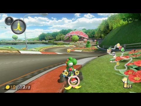 mario kart 8 deluxe gcn yoshi circuit 1080 hd youtube. Black Bedroom Furniture Sets. Home Design Ideas