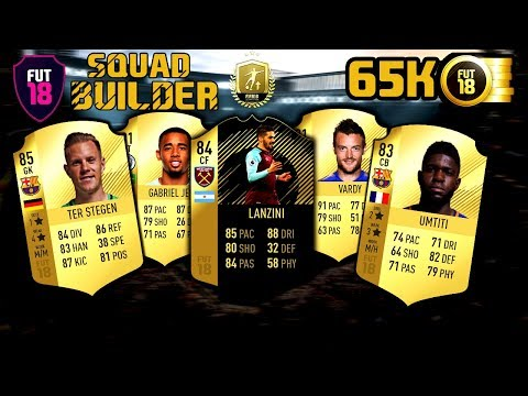 65K OP Hybrid Team -Squad Builder! #2 (Greek) FIFA 18 ~The Cousins