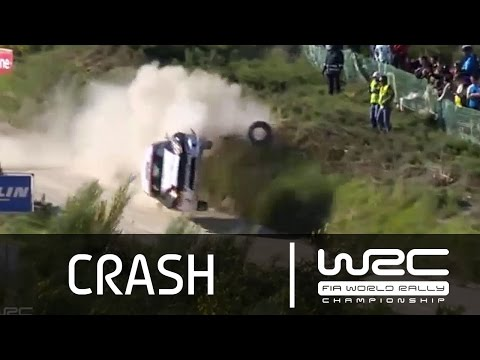 WRC - Vodafone Rally De Portugal 2015: Ketomaa CRASH