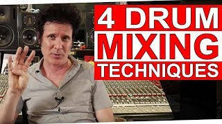4 Drum Mixing Techniques (Giveaway) - Warren Huart: Produce Like A Pro